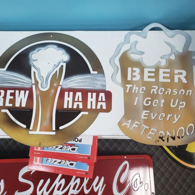 beer signs