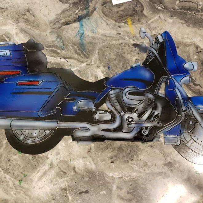 bike cutout
