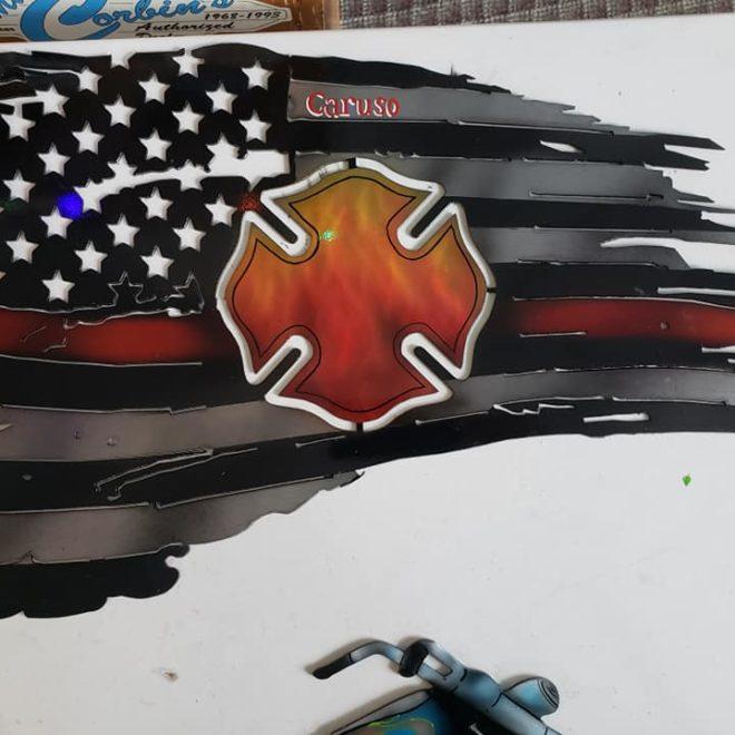 flag cutout